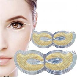 Kolagénová maska na oči so zlatom