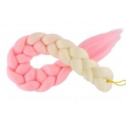 Kanekalon Perlova blond - Baby pink