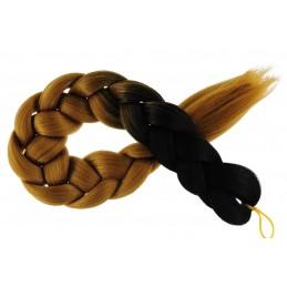 Kanekalon Čierna - Tmava blond