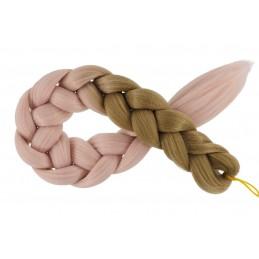 Kanekalon Tmava blond - Ružova blond Kategórie
