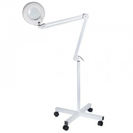 Kozmetická lampa s lupu Trader 8 dioptrií