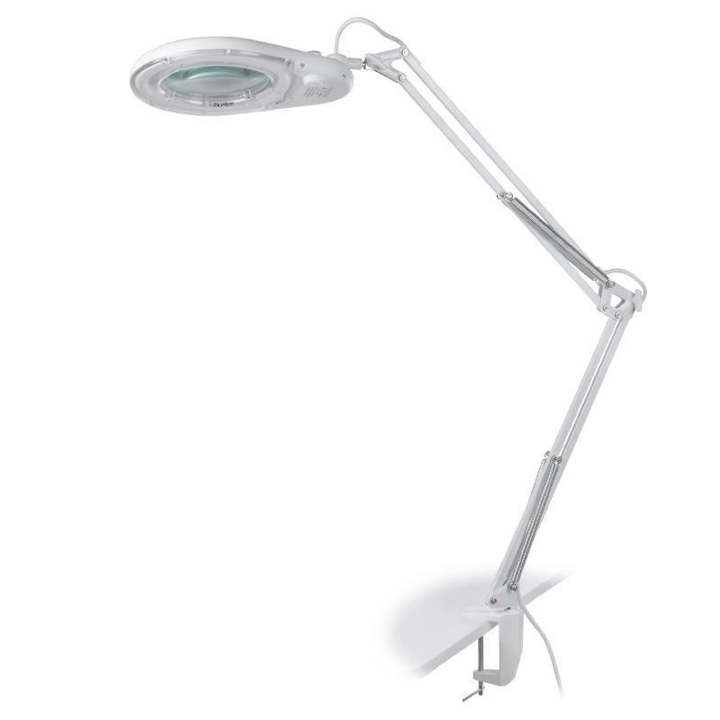 Lampa so zväčšujúcou lupou 5 dpi a svietivosťou 1350lm Kozmetické lupy