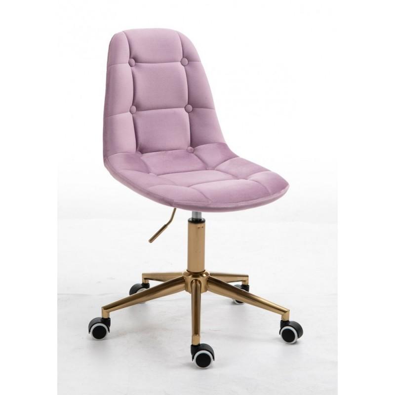 Kozmetická stolička Laura Velur Vres