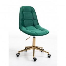Kozmetická stolička Laura Velur Green