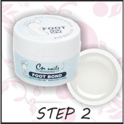Uv gel Foot bond 15ml - step 2 Uv gely na nohy