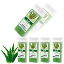 Depilačný vosk 5ks - Aloe vera Vosk na depiláciu VEĽKÝ ROLL-ON