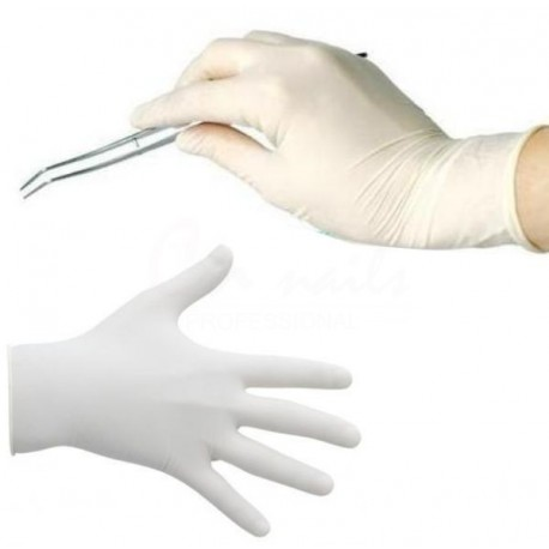 Ochranné latexové rukavice 50 kusov Ochranné pomôcky