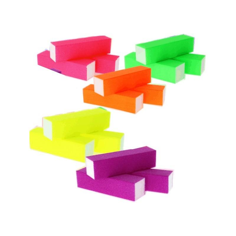 Blok na nechty NEON 4ks Leštičky, bloky na nechty