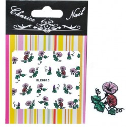 NR. 861 Glitter labels Glitter labels