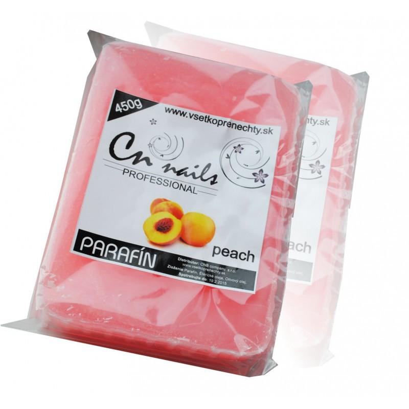 Kozmetický parafín Peach - 450g PARAFÍNOVÝ PROGRAM