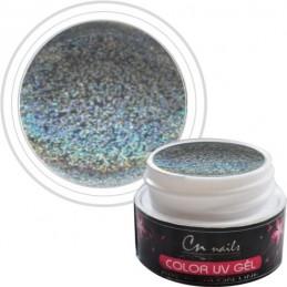 Glitter farebný uv gél 5ml CN nails GLIMMER, glitrové UV GÉLY