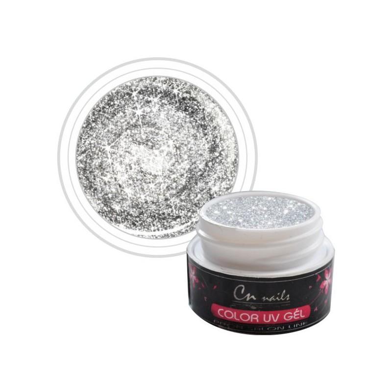 Farebný Glimmer uv gel 5ml CN nails GLIMMER, glitrové UV GÉLY