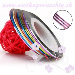 Páska na zdobenie - ružová Pásky na zdobenie