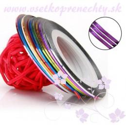 Páska na zdobenie - fialová Pásky na zdobenie