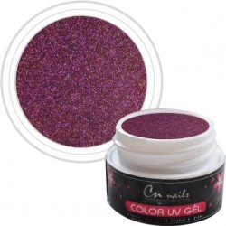NR.711 Night Shine CN nails SUPER STAR UV GÉLY