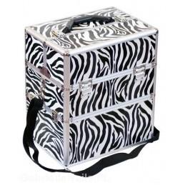 Kozmetický kufrík Zebra