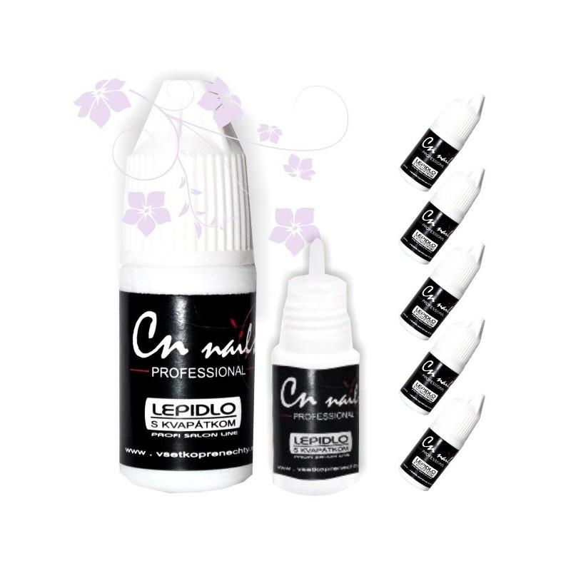 Lepidlo na nechty 5ks CN nails Lepidlo na gelove nechty