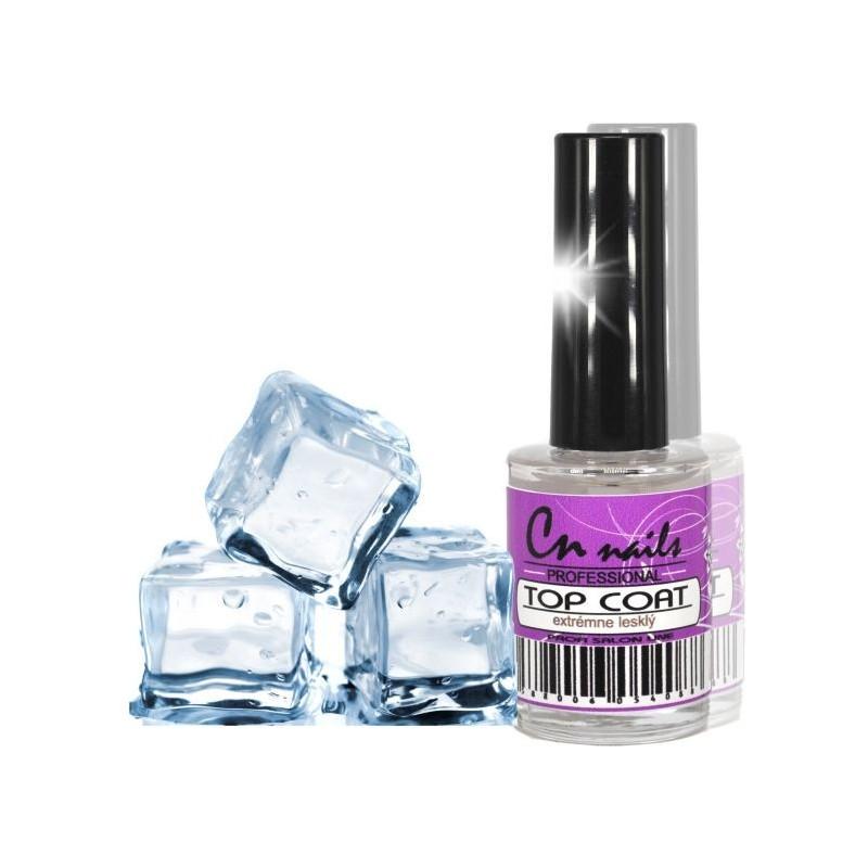 Lak na nechty Top coat - Extrémne lesklý 15 ml CN nails Pomocné prípravky