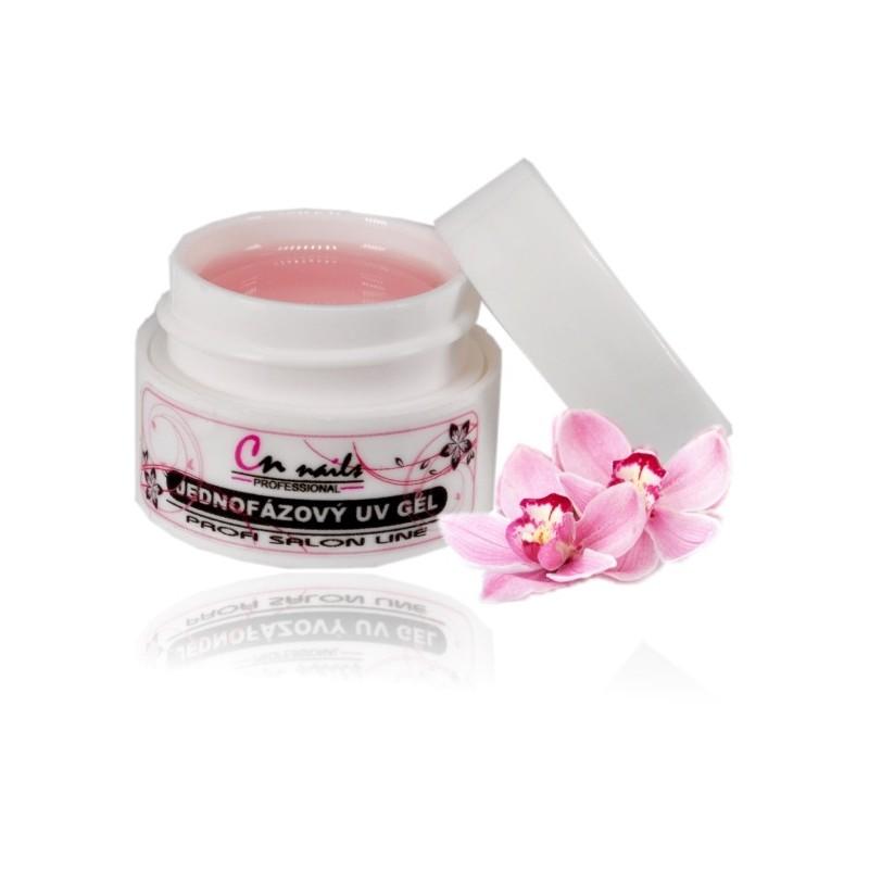 Uv gél pink jednofázový 5 ml CN nails Modelážne, stavebné gély