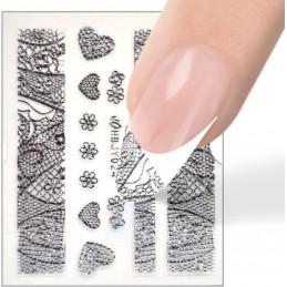 Luxury nail sticker