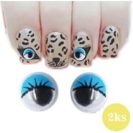 Šibalské oči - modré Šibalské oči