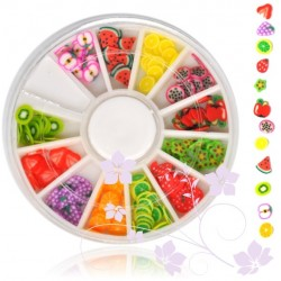 NR.10 Fimo - ovocie karusel Fimo