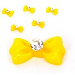 3D mašle na nechty 5ks Mašličky