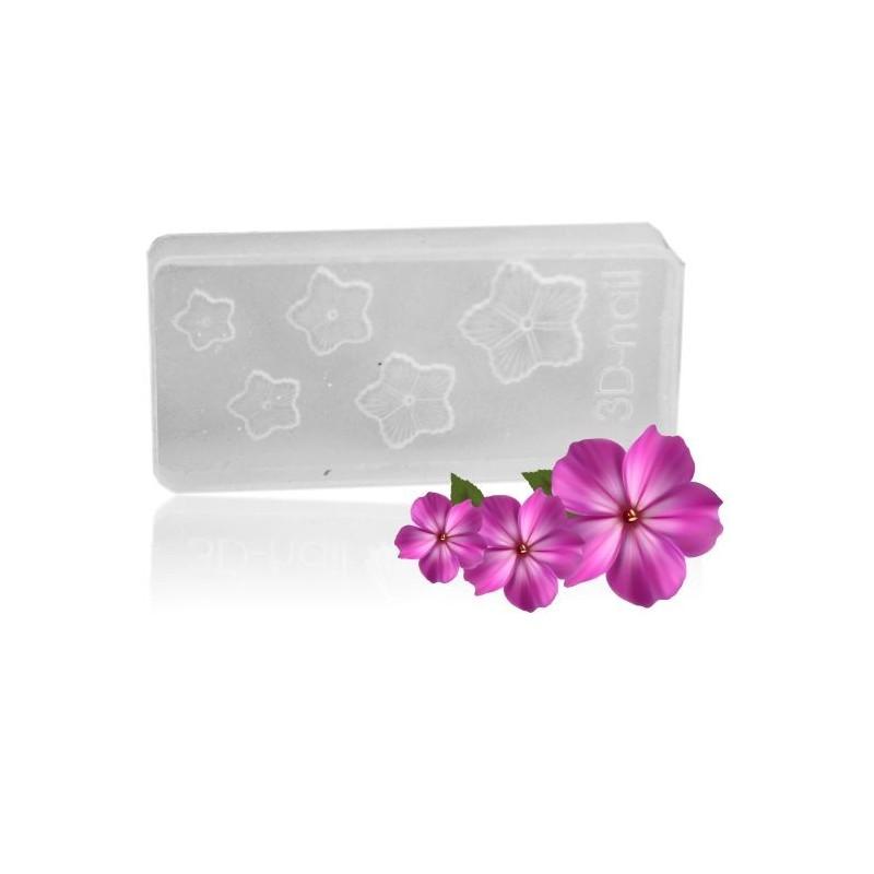 3D formy na nechty - kvet nr.6 Formy na Nail Art akrylom