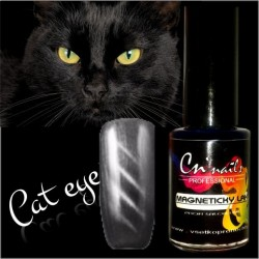Efekt mačacích očí Lak cat eye