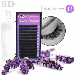 5D Mink and Silk - Mix 8-12mm 5D mihalnice Tip C