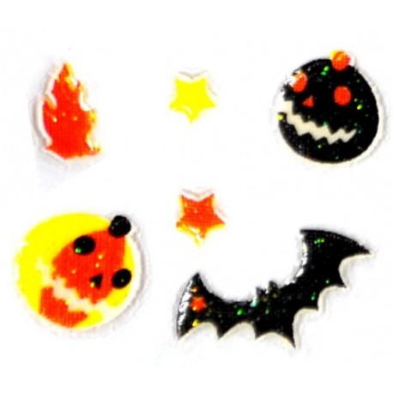 Jesenné nálepky Halloween nálepky