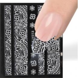 Luxury nail sticker Čipky - nálepky