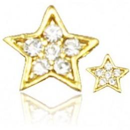 Šperk na nechty Hviezdička Šperky na nechty