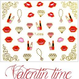 Valentínske nálepky Prestige NÁLEPKY LOVE & HEART