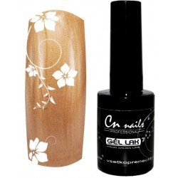 Gel lak na nechty - Brown Pearl 15ml