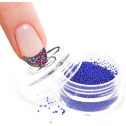 Kaviár na nechty fialovo modrý Kaviárové perličky