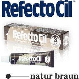 RefectoCil farba na obočie a riasy prirodno Brown 15 ml