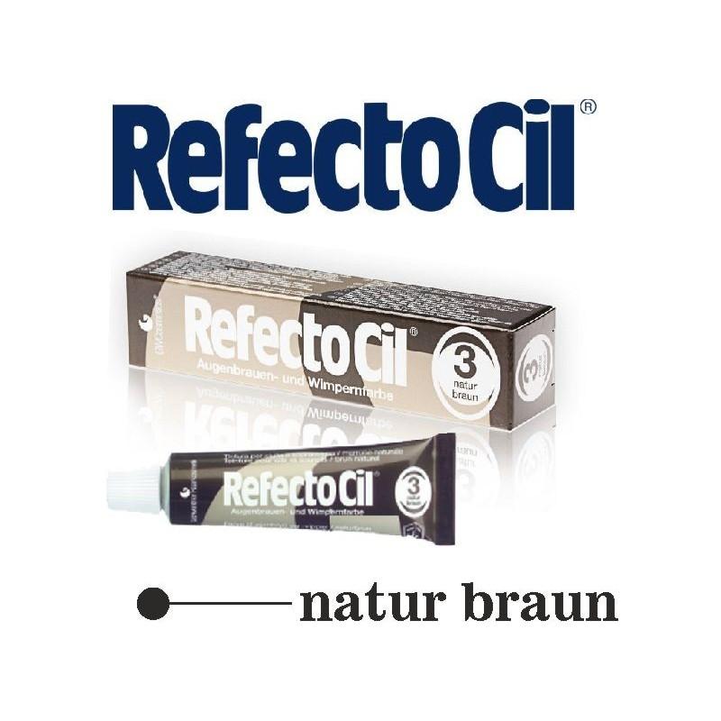 RefectoCil farba na obočie a riasy prirodno Brown 15 ml Refectocil