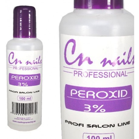 CN nails - Peroxid 3% 100ml CN nails Refectocil
