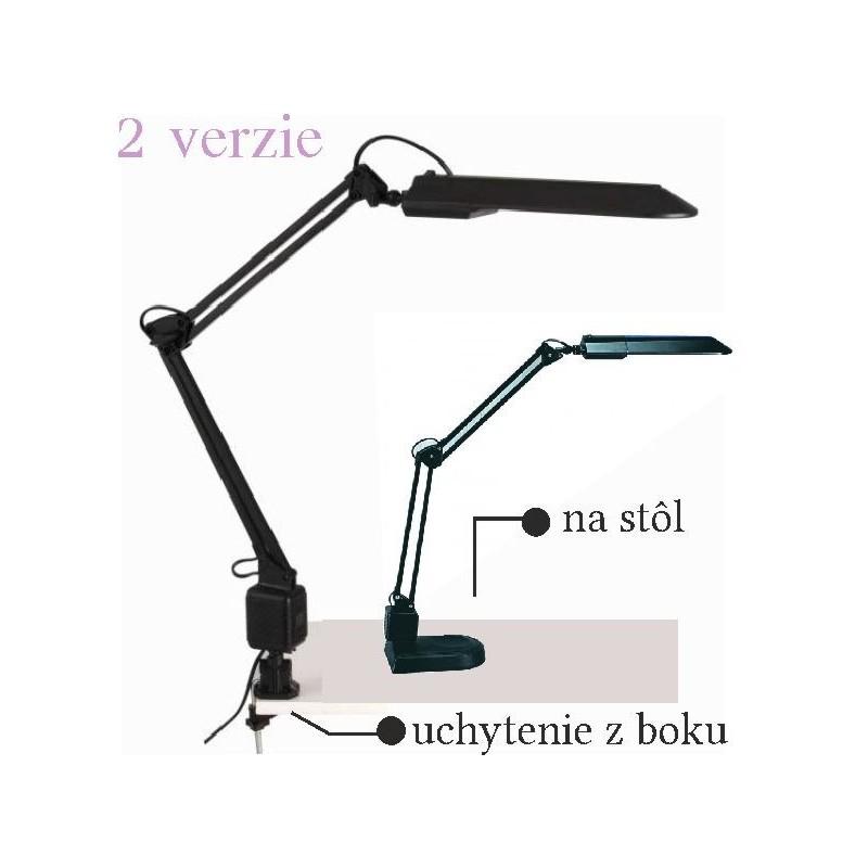 Kozmetická lampa čierna Lampy na manikúrny stolík