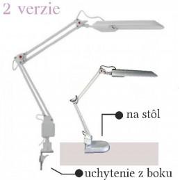 Kozmetická lampa strieborna