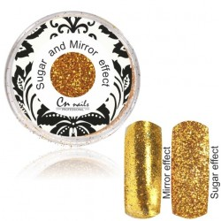 NR.1 Sugar and Mirror efect gold Sugar and Mirror efect