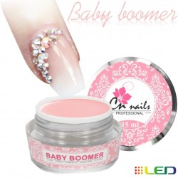 Baby boomer UV/Led gél 15ml KAMUFLÁŹNE GÉLY na nechty