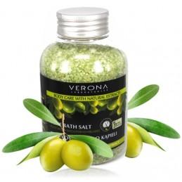 Olivová soľ na pedikúru SPA kozmetika