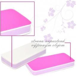 Olejová leštička Pink Leštičky, bloky na nechty