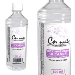 CN nails dezinfekcia, čistič gélu 500ml Dezinfekcie, čističe, odstraňovače