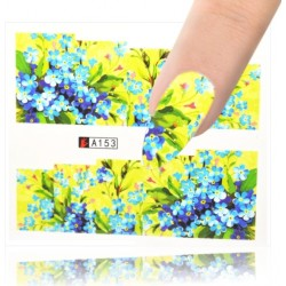 A153 Flowers design Vodové nálepky - Flowers
