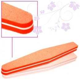 Penový pilník MOON 100/180 Orange Rovné pilníky