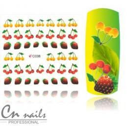 C038 Vodolepky ovocie Jesenné ozdoby