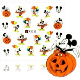 Halloween nálepky na nechty Halloween